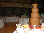 Chocolate Fountain at Reading Town Hall